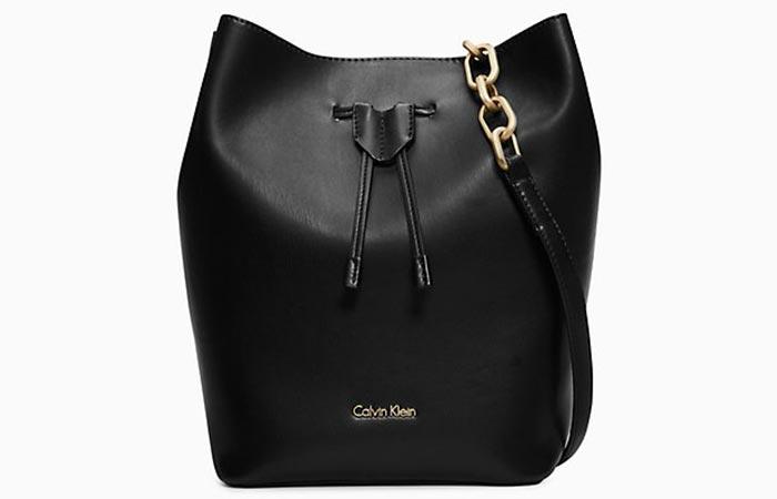 Calvin Klein Reversible Medium Bucket Bag - Bucket Bags