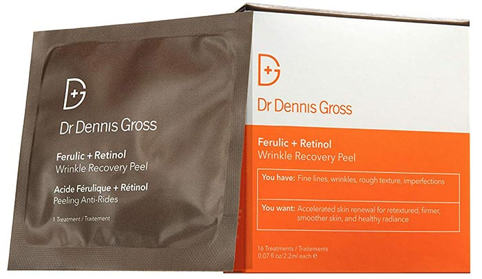 Dr. Dennis Gross Ferulic + Retinol Wrinkle Recovery Peel