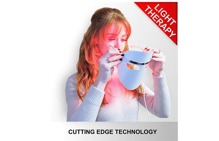 Hangsun Light Therapy Acne Treatment LED Mask