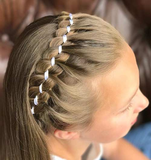 Headband 4-Strand Braid