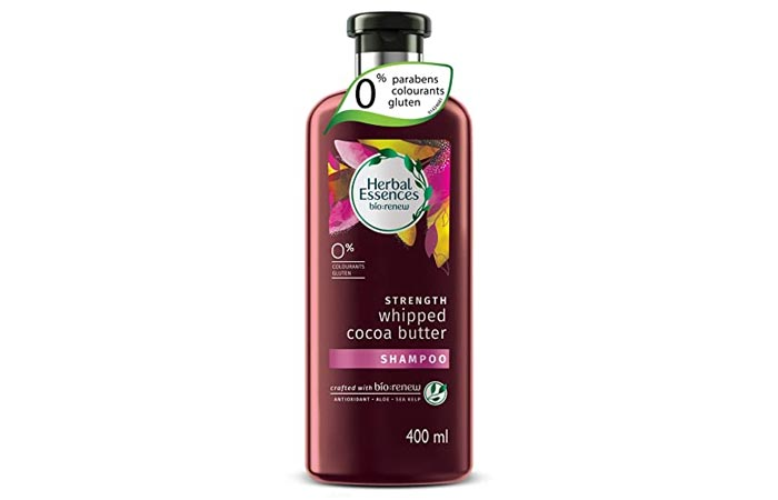 Herbal Essence Bio Renew Strength Whipped Cocoa Butter Shampoo