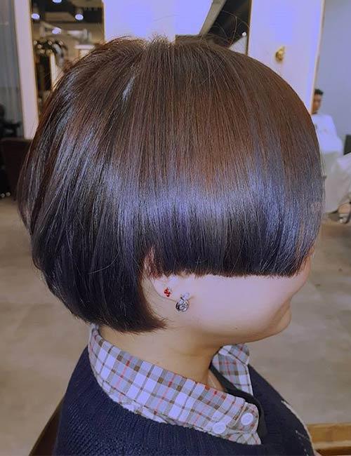 Hime Cut Bob