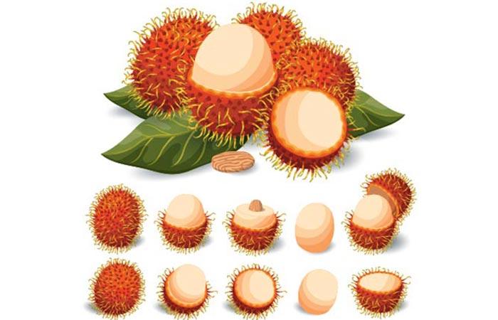 How To Eat Rambutan Properly in Hindi