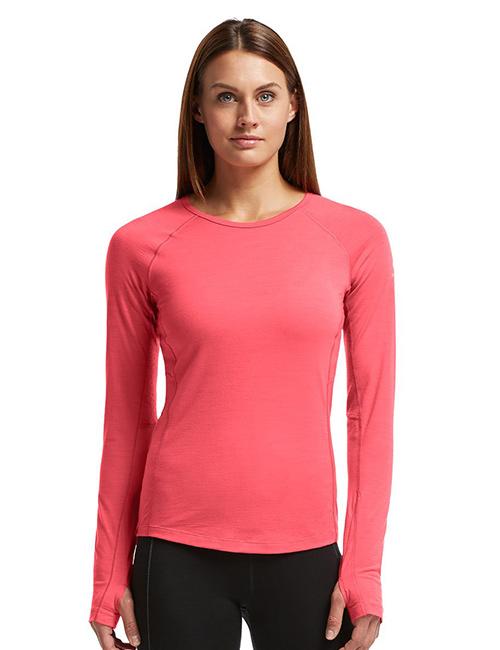 Icebreakers Zone Crewe Women's Running Top - Thermal Underwear For Women