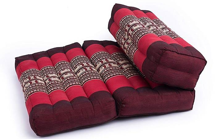 Kapok Dreams Foldable Meditation - Meditation Cushions