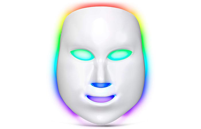 Lacomri 7 Color LED Light Therapy Acne Mask