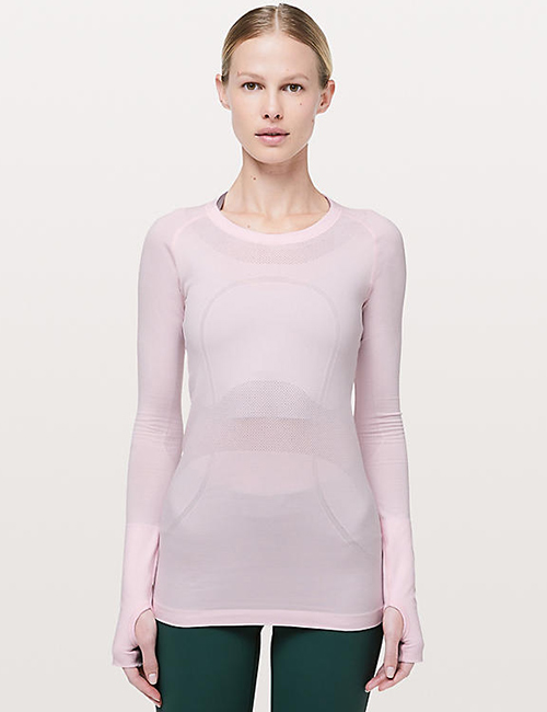 Lululemon Swiftly Tech Long Sleeve Crew - Thermal Underwear For Women