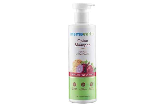 Mamaarth Onion Shampoo