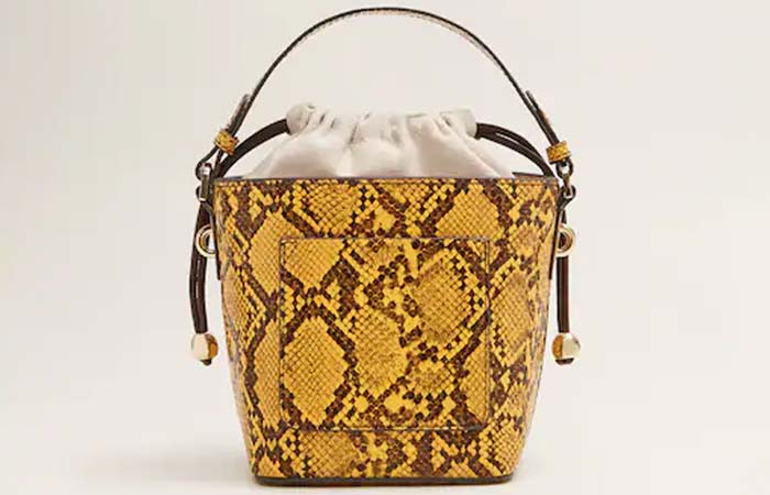 Mango Leather Bucket Bag - Bucket Bags