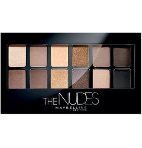 Maybelline New York The Nudes Eyeshadow Palette