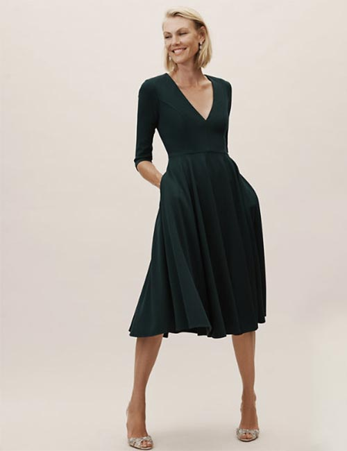 Monochrome Short Dress