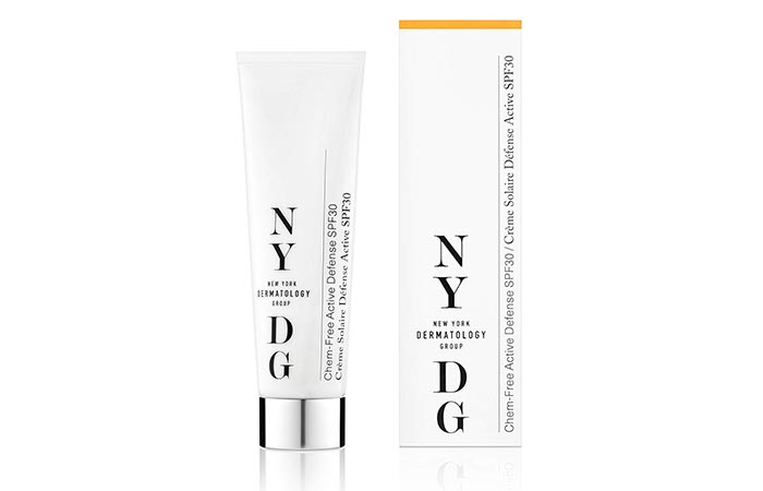 NYDG Chem-Free Active Defense SPF 30