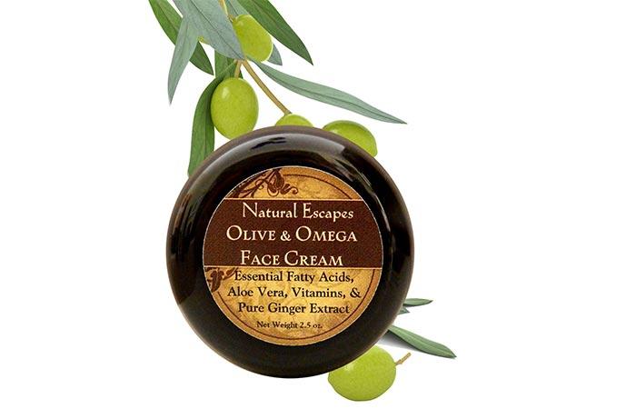 Nature Escapes Olive & Omega Face Cream
