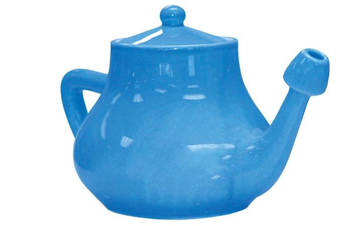 NeilMed Nasaflo Porcelain Neti Pot - Best Neti Pots