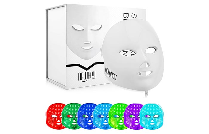 Newkey 7 Color LED Light Facial Skin Care System
