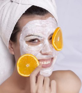 Orange Peel Face Pack in Hindi a
