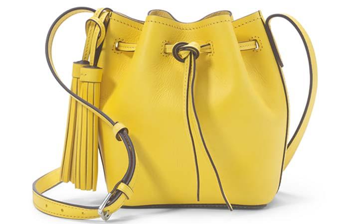 Polo Ralph Lauren Mini Leather Bucket Bag - Bucket Bags