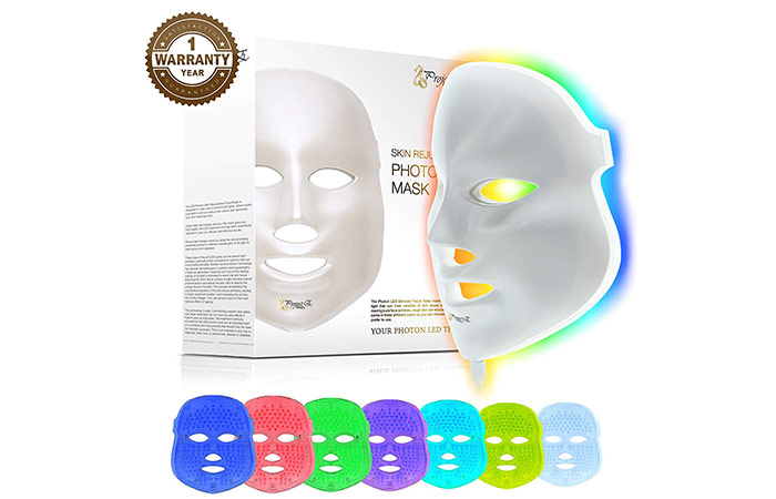 Project E Beauty 7 Color LED Face Mask