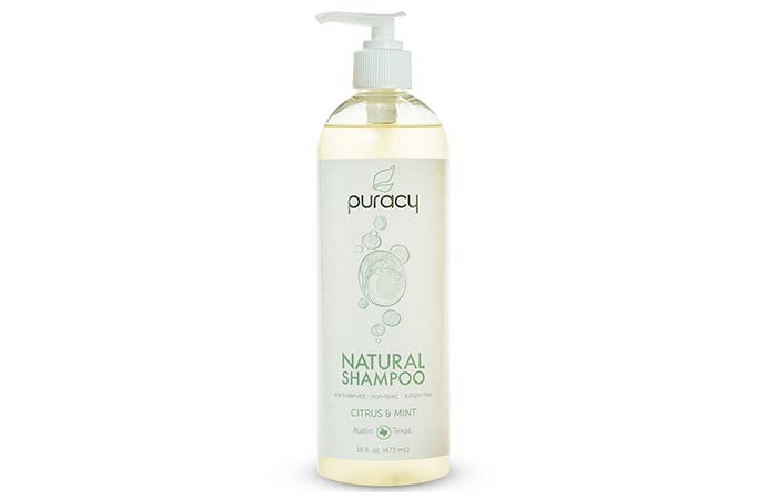 Puracy Natural Shampoo – Citrus & Mint