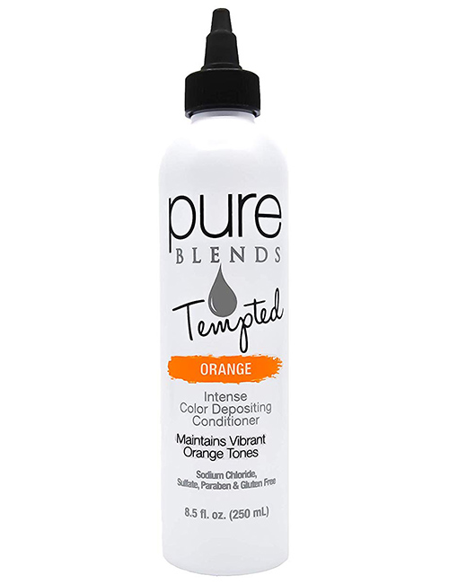 Pure Blends Tempted Intense Color Depositing Conditioner – Orange