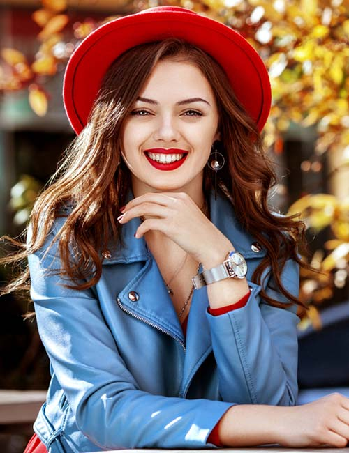 Red And Blue - Colors That Go Well With Red Clothes