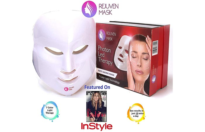 10 Best Led Light Therapy Face Masks For Acne 2019