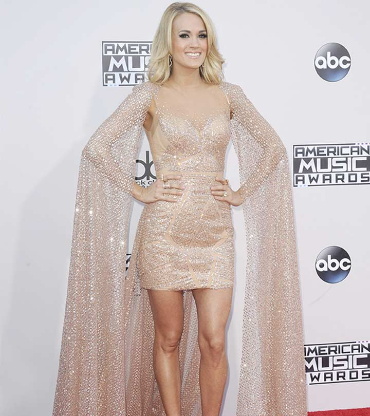 Revealed! How Carrie Underwood Lost Her Post-Baby Weight