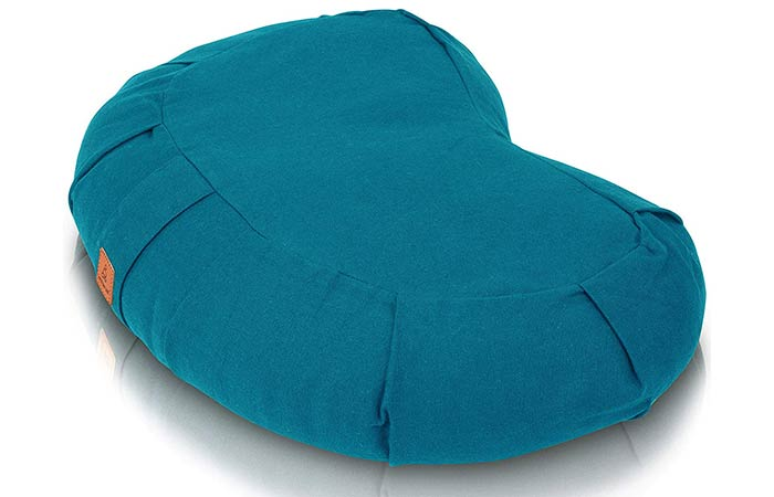 Seat Of Your Soul Buckwheat Crescent Meditation Cushion - Meditation Cushions