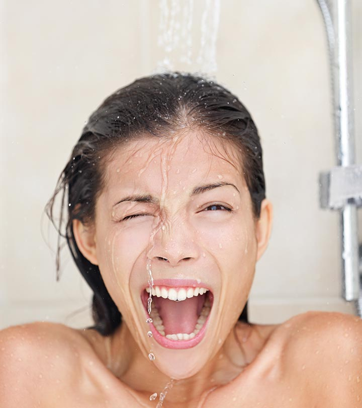 Should You Wash Your Face In The Shower?