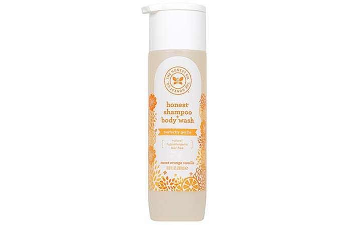 The Honest Co. Shampoo + Body Wash – Sweet Orange Vanilla