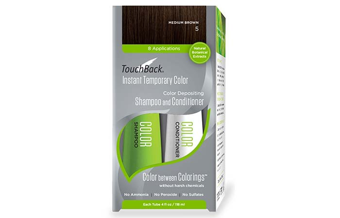 TouchBack Instant Temporary Color Depositing Shampoo And Conditioner