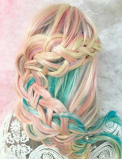 Unicorn Waterfall Braid