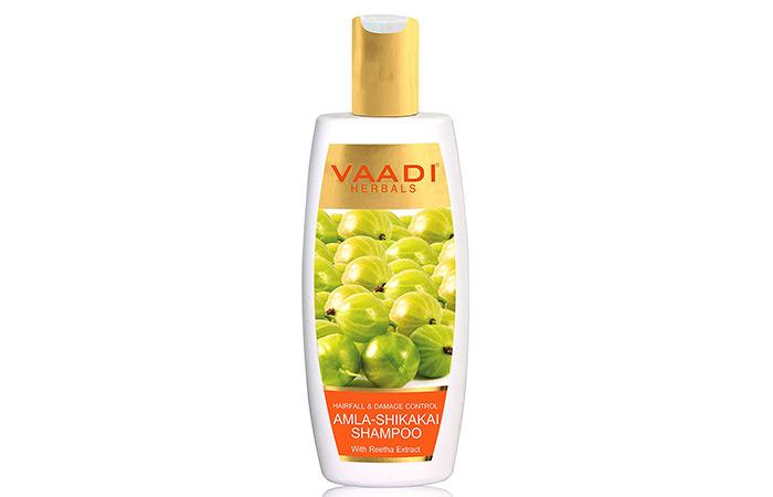 Vaadi Herbals Hair Fall And Damage Control Amla Shikakai Shampoo