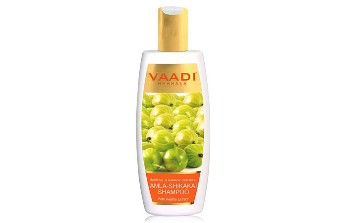 Wadi Herbals Hair Fall and Damage Control Amla Shikakai Shampoo
