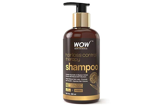 Wao Skin Science Hair Loss Control Therapy Shampoo