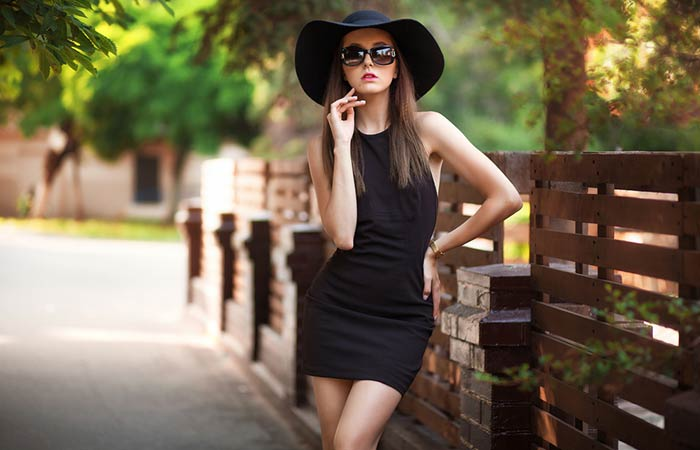 Wear LBD (Little Black Dress)