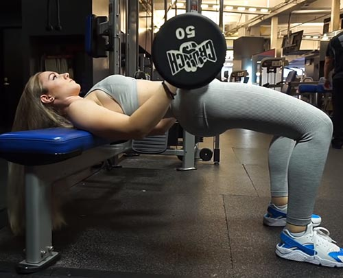 Weighted Hip Thrusts