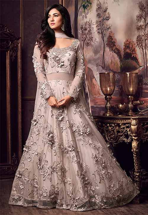 20 Best Reception Dress For Indian Brides,Farm Wedding Barn Wedding Dresses