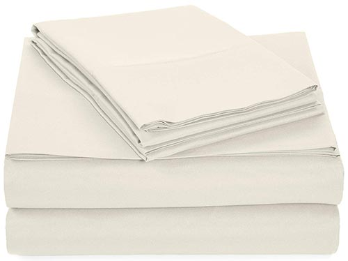 Amazonbasics Microfiber Sheet Set - Cooling Sheets