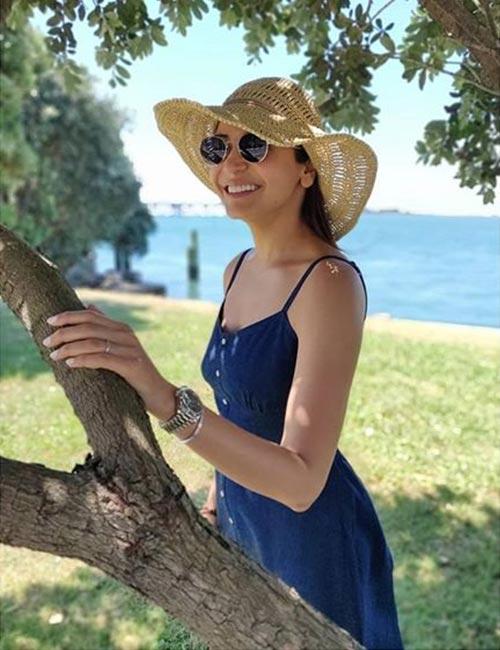Anushka Sharma's Relaxed Vibe