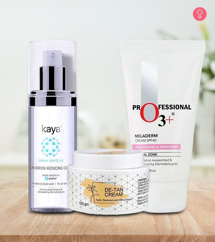 Best Sun Tan Removal Creams