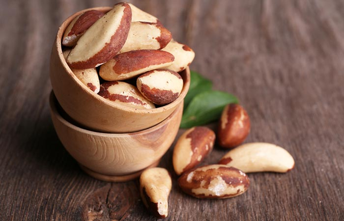 Brazil nuts for Hypothyroidism in hindi