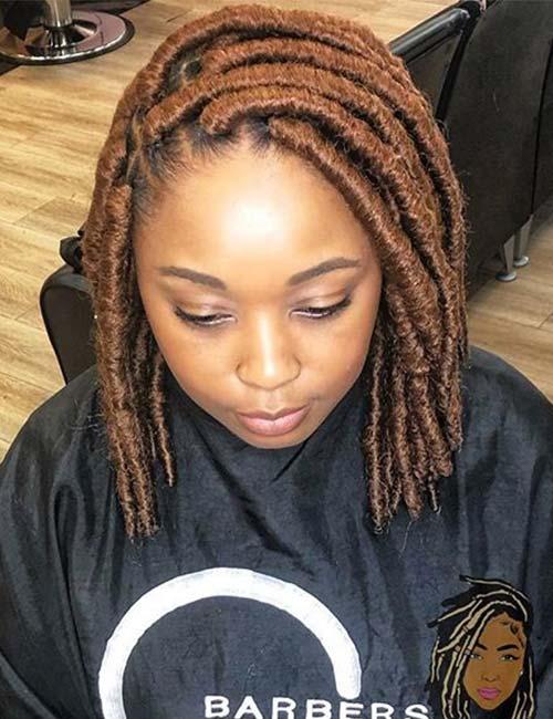 Brown Marley Dread Twists
