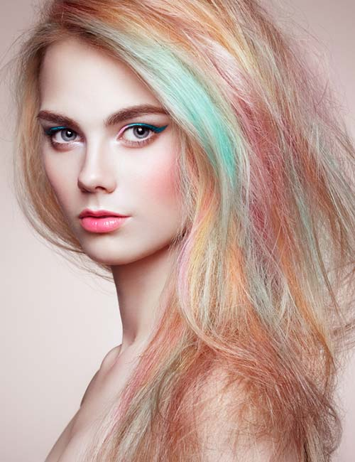 Candy Pastel Highlights