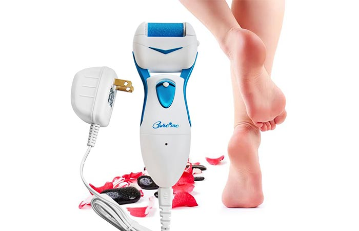 Care Me Powerful Rechargeable Callus Remover - Electric Callus Removers