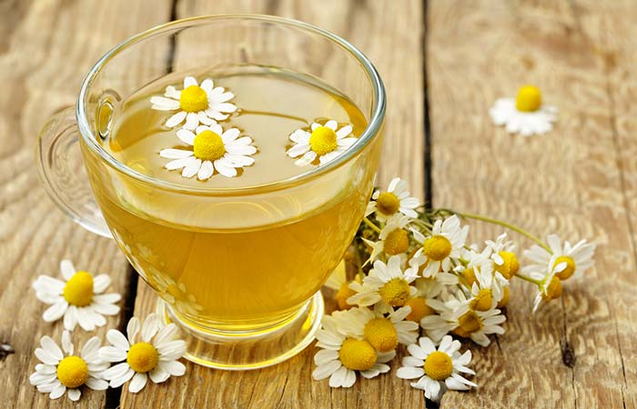 chamomile tea for Back Pain in Hindi