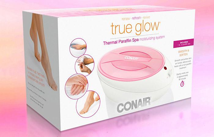Conair True Glow Thermal Paraffin Spa Moisturizing System - Best Paraffin Wax Baths