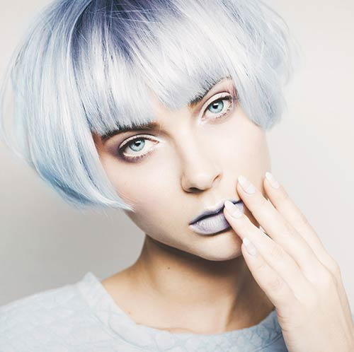Shutterstock </p> </div> <p>  Did you know that the first interior decorator is also the first woman with sporty blue hair? Lady Elsie De Wolf Mendell dyed her hair in 1924. That&#39;s right, blue hair has been around for so long and it looks absolutely brilliant. </p> <h3>  22. Red and Brown </h3> <div id=