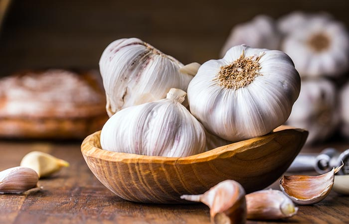Garlic for food poisoning in Hindi