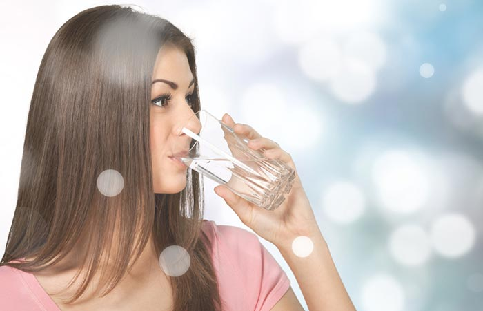 Hair Benefits of Water in Hindi